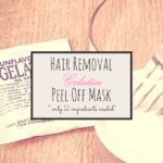 Homemade Gelatin Peel-Off Mask to Remove Facial Hair